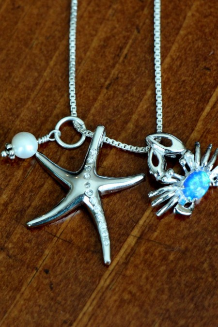 starfish, crab necklace IMG_0527