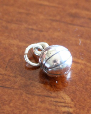 Sterling Silver Basketball Jewelry Charm K Amp S Impressions