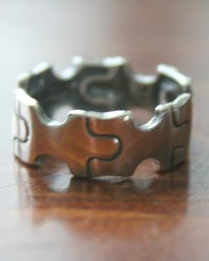 Autism Puzzle Name Ring Set K Amp S Impressions