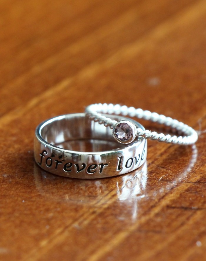 Couples Promise Ring Forever Love Kandsimpressions