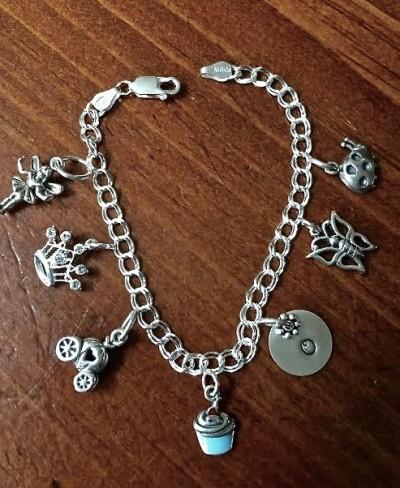 Princess Charm Bracelet Girls Jewelry Kandsimpressions