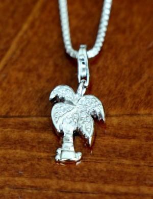 Palm Tree Necklace Beach Jewelry K Amp S Impressions