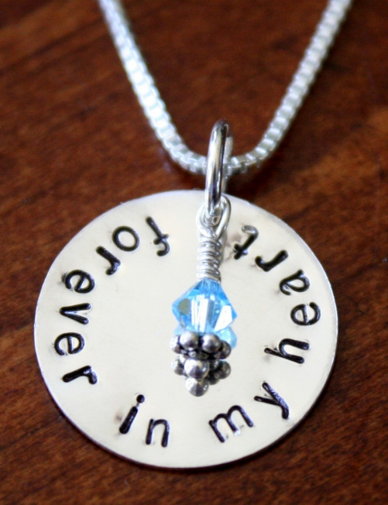 Adoption Necklace Forever In My Heart Kandsimpressions